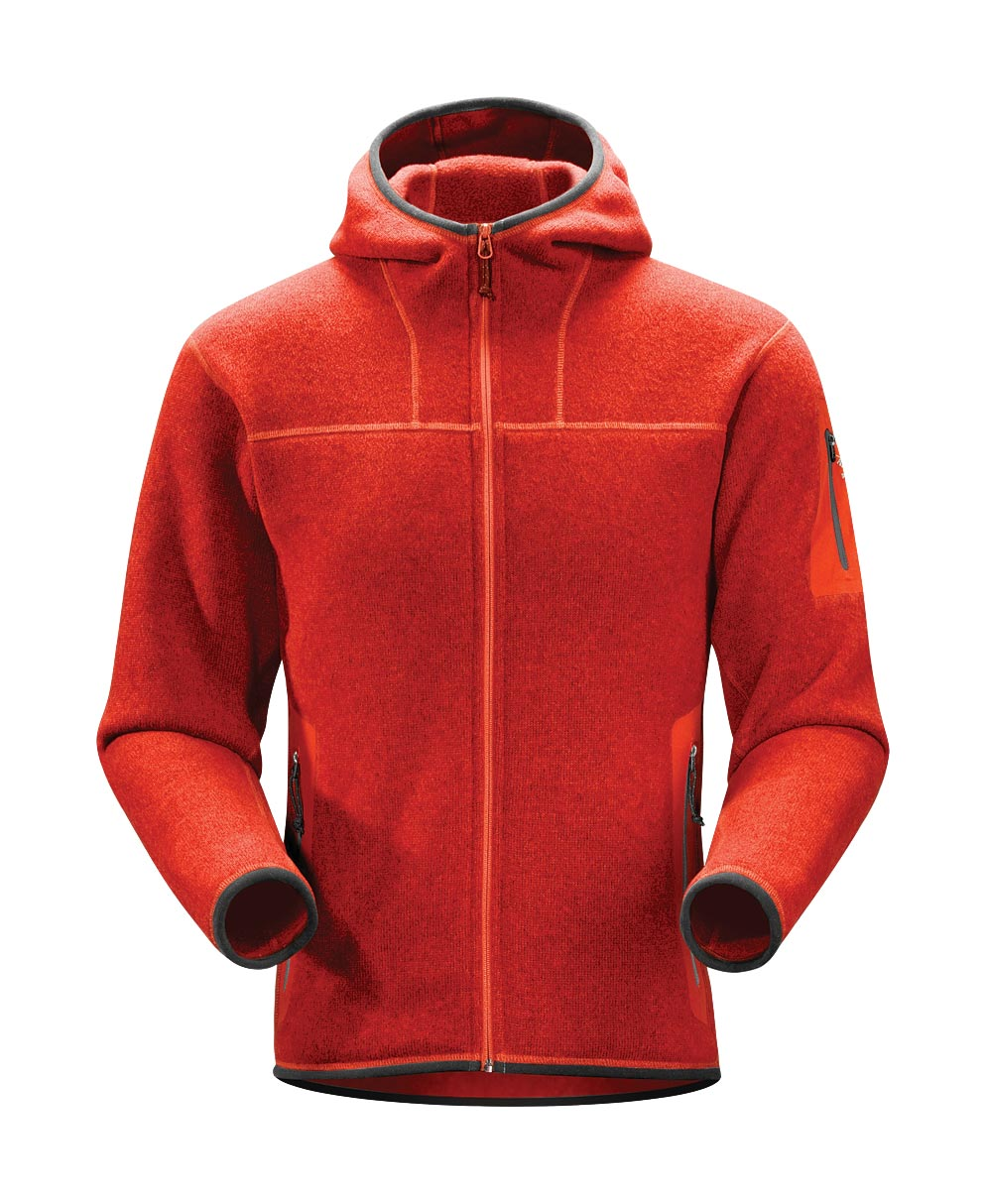 Arcteryx Road Rash Red Covert Hoody
